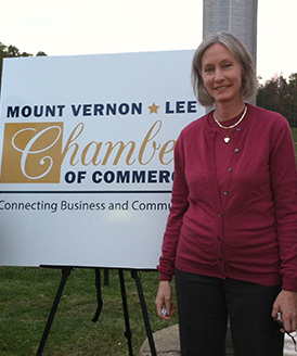 Logo unveiling for Mount Vernon-Lee Chamber of Commerce